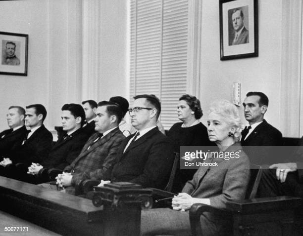 Jury at Dallas trial of Jack Ruby
