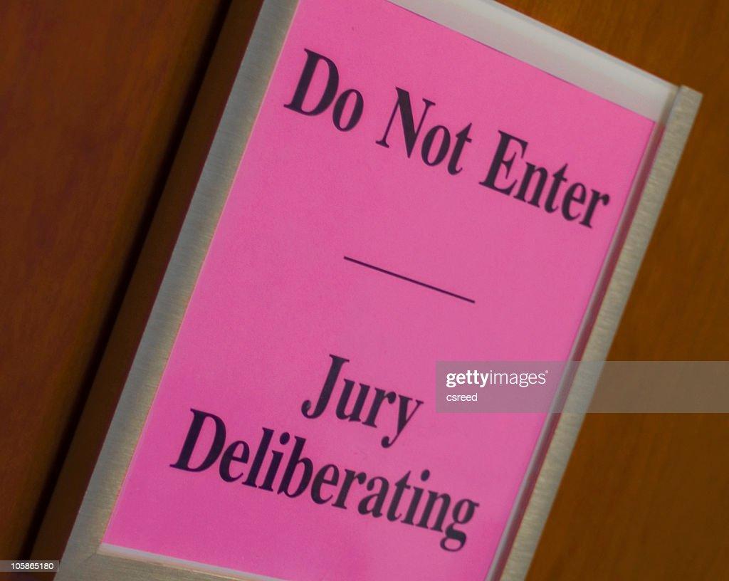 Jury Deliberating : Stock Photo