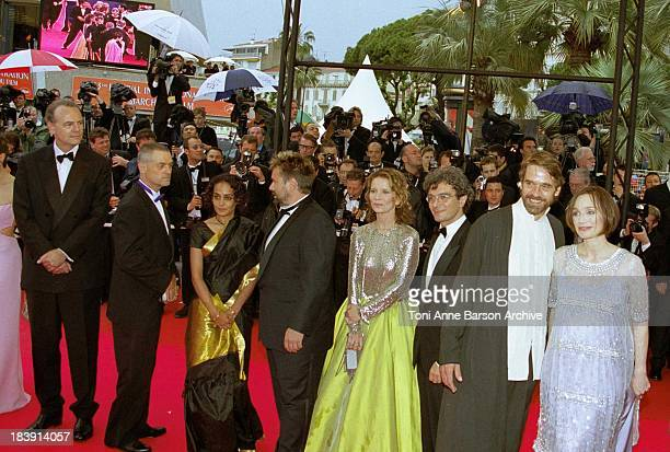 Jury during 53rd Cannes Film Festival The Red Carpet at Palais des Festivals in Cannes France