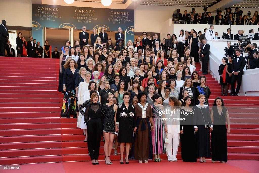 """Girls Of The Sun (Les Filles Du Soleil)"" Red Carpet Arrivals - The 71st Annual Cannes Film Festival : News Photo"