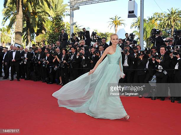 Jury member Actress Diane Kruger attends opening ceremony and 'Moonrise Kingdom' premiere during the 65th Annual Cannes Film Festival at Palais des...