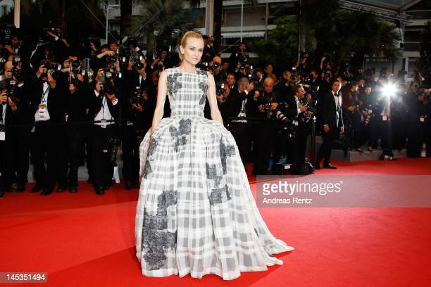 "Jury member actress Diane Kruger attends the Closing Ceremony and ""Therese Desqueyroux"" premiere during the 65th Annual Cannes Film Festivalon May..."