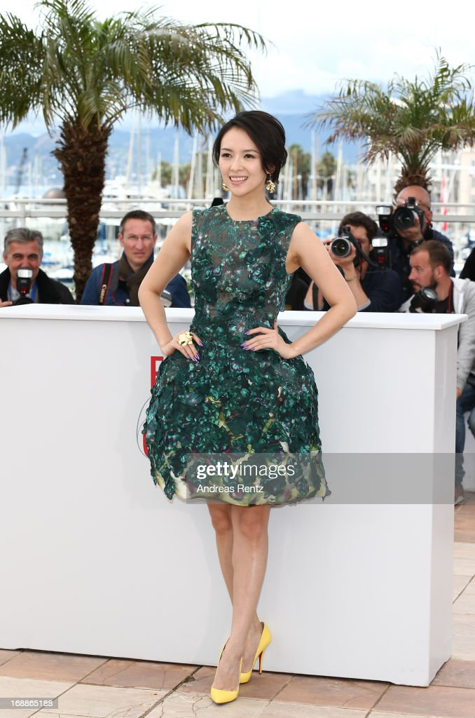 Jury member actress Zhang Ziyi attends the Jury 'Un Certain Regard' Photocall during the 66th Annual Cannes Film Festival at the Palais des Festivals on May 16, 2013 in Cannes, France.