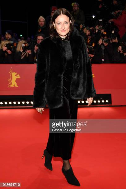 Jury member Adele Romanski attends the Opening Ceremony 'Isle of Dogs' premiere during the 68th Berlinale International Film Festival Berlin at...
