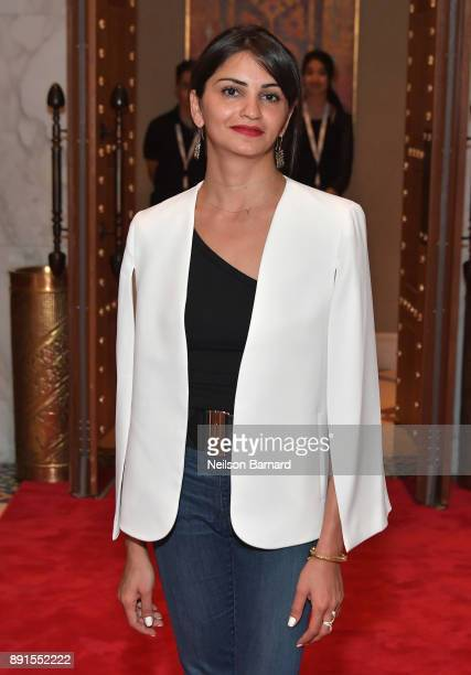 Jury member Ahd Kamel attends the Muhr Awards on day eight of the 14th annual Dubai International Film Festival held at the Madinat Jumeriah Complex...