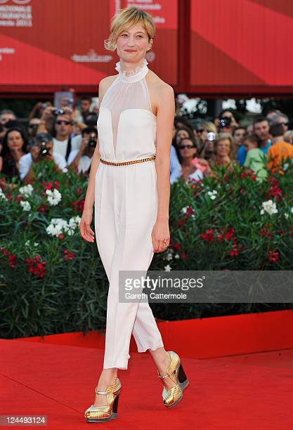 Jury member Alba Rohrwacher attends the 'Damsels In Distress' premiere and closing ceremony during the 68th Venice Film Festival at Palazzo del...