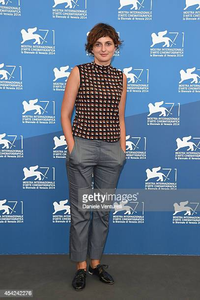 "Jury member Alice Rohrwacher of ""Luigi de Laurentiis"" Venice Award for a Debut Film attends the Opening Photocall during the 71st Venice..."