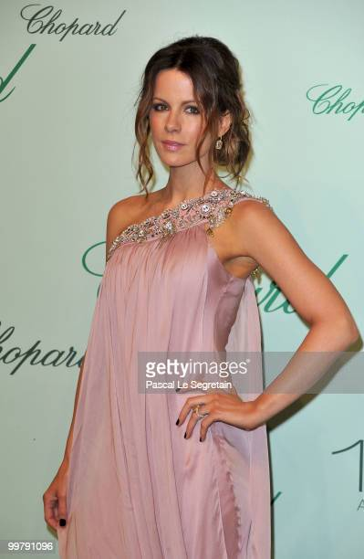 Jury member and actress Kate Beckinsale attends the Chopard 150th Anniversary Party at Palm Beach Pointe Croisette during the 63rd Annual Cannes Film...