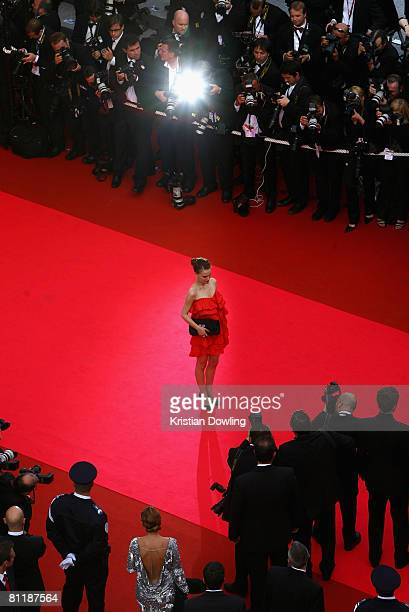 Jury member and actress Natalie Portman arrives at the 'Che' Premiere at the Palais des Festivals during the 61st International Cannes Film Festival...