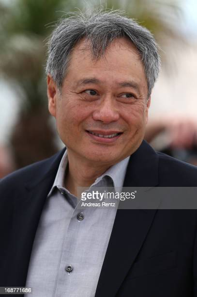 Jury member Ang Lee attends the Jury Photocall during the 66th Annual Cannes Film Festival at the Palais des Festivals on May 15 2013 in Cannes France