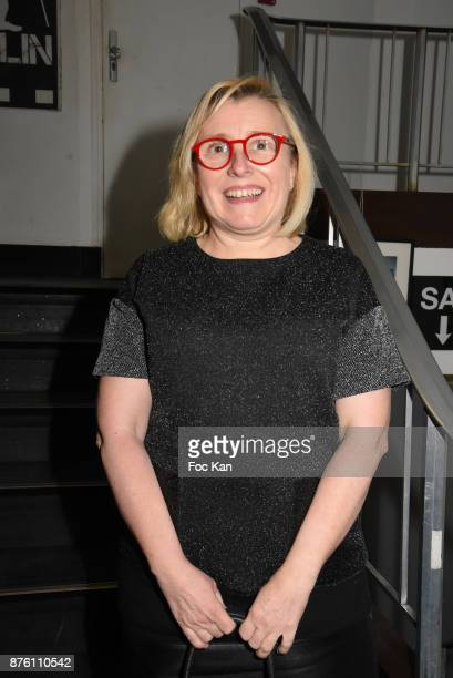 Jury member Anne Marie Jeannerot attends 'Cours Charlie Courts' Short Movies Festival at Cinema Chaplin Saint Lambert on November 18 2017 in Paris...