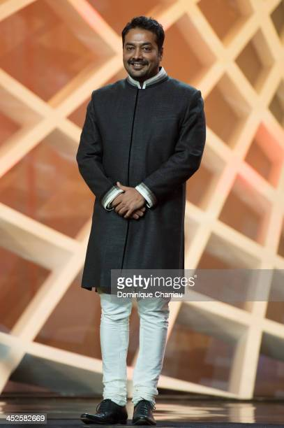 Jury member Anurag Kashyap attends the opening ceremony of the 13th Marrakesh International Film Festival on November 29 2013 in Marrakech Morocco