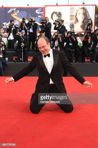 Jury member Carlo Verdone attends the Closing Ceremony during the 71st Venice Film Festival at Sala Grande on September 6 2014 in Venice Italy