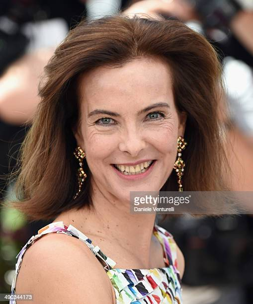 Jury member Carole Bouquet attends the Jury photocall during the 67th Annual Cannes Film Festival on May 14 2014 in Cannes France