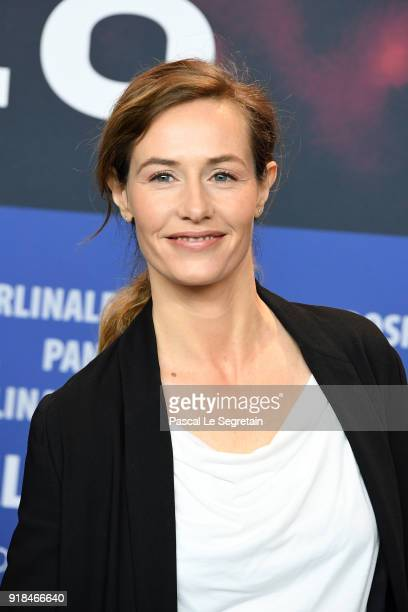 Jury Member Cecile de France is seen at the International Jury press conference during the 68th Berlinale International Film Festival Berlin at Grand...