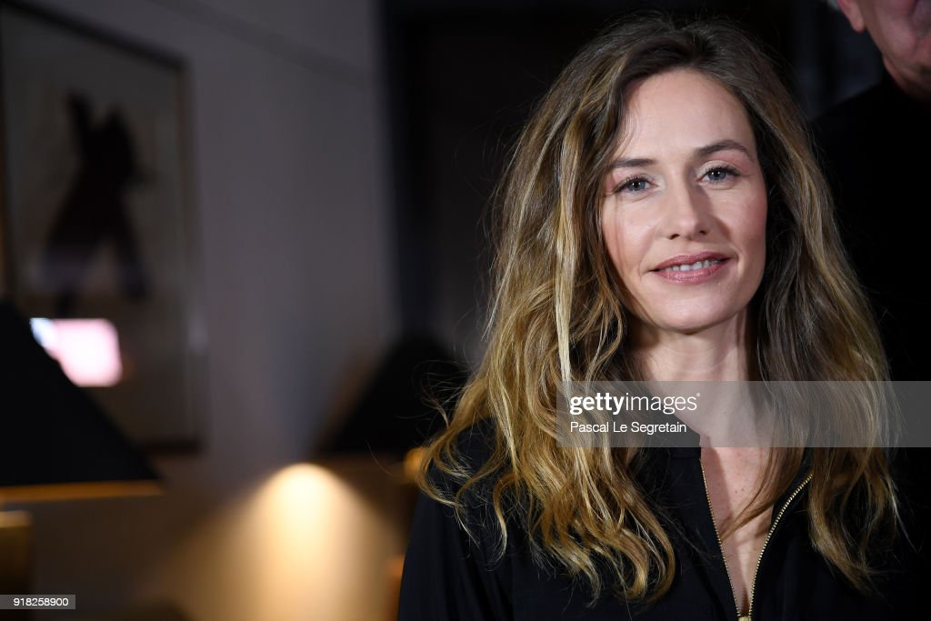Jury Member Cecile de France poses at the International Jury photo call during the 68th Berlinale International Film Festival Berlin at Hotel Mandala on February 14, 2018 in Berlin, Germany.