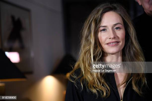 Jury Member Cecile de France poses at the International Jury photo call during the 68th Berlinale International Film Festival Berlin at Hotel Mandala...