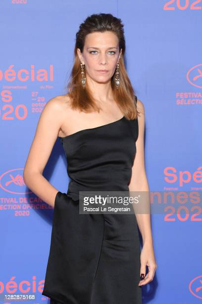 Jury member Celine Sallette attends the Best Short Film Palme D'Or Award Ceremony of the Special Cannes 2020 Le Festival Revient Sur La Croisette as...