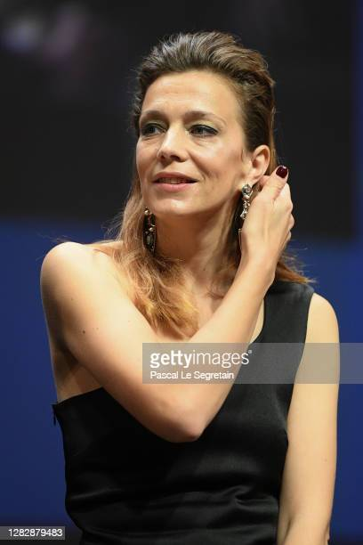 "Jury member Celine Sallette attends the Best Short Film Palme D'Or Award Ceremony of the ""Special Cannes 2020 : Le Festival Revient Sur La Croisette..."
