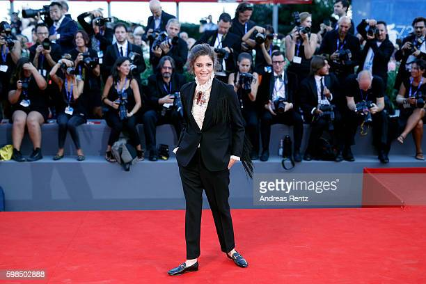 Jury member Chiara Mastroianni attends the premiere of 'The Lights Between Oceans' during the 73rd Venice Film Festival at Sala Grande on September 2...