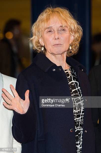 Jury Member Claire Deni attends the Deauville Asian Film Festival opening ceremony at CID of Deauvile on March 5 2014 in Deauville France