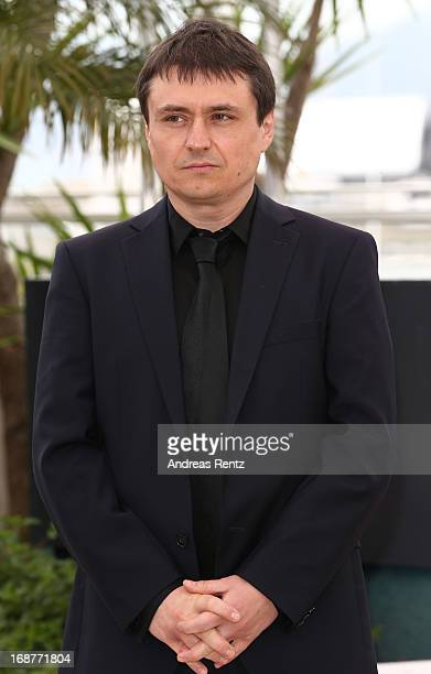 Jury member Cristian Mungiu attends the Jury Photocall during the 66th Annual Cannes Film Festival at the Palais des Festivals on May 15 2013 in...