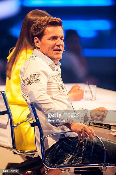 Jury member Dieter Bohlen talks during DSDS Kids 1st Show at Coloneum on May 05 2012 in Cologne Germany