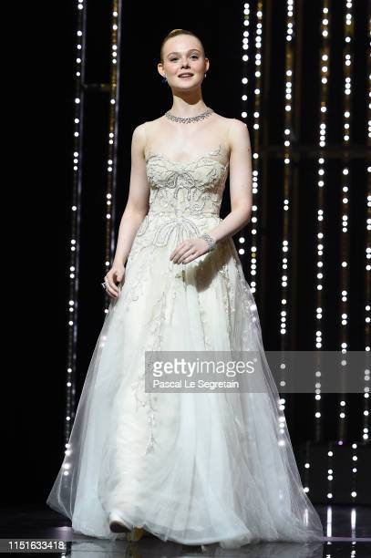 Jury Member Elle Fanning attends the Closing Ceremony during the 72nd annual Cannes Film Festival on May 25, 2019 in Cannes, France.