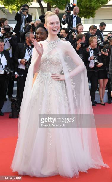 Jury Member Elle Fanning attends the closing ceremony screening of The Specials during the 72nd annual Cannes Film Festival on May 25 2019 in Cannes...