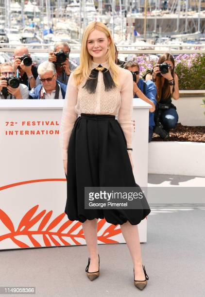 Jury Member Elle Fanning attends the Jury photocall during the 72nd annual Cannes Film Festival on May 14, 2019 in Cannes, France.