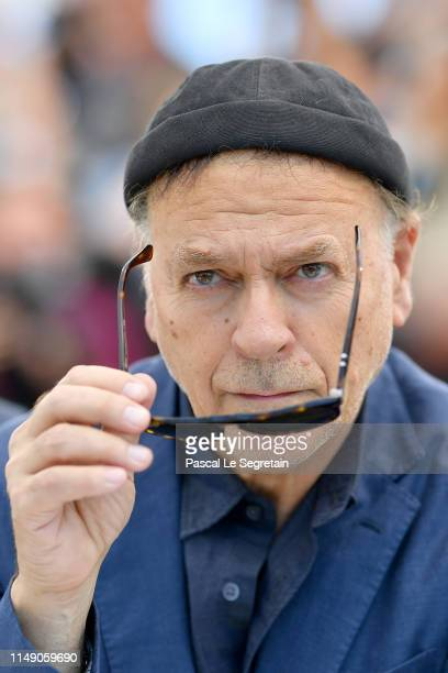 Jury Member Enki Bilal attends the Jury photocall during the 72nd annual Cannes Film Festival on May 14 2019 in Cannes France