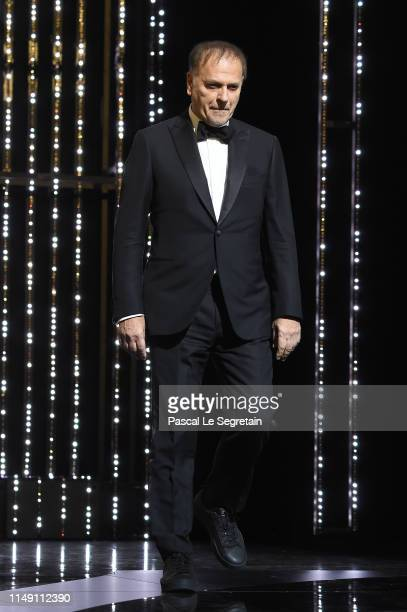 Jury Member Enki Bilal attends the Opening Ceremony during the 72nd annual Cannes Film Festival on May 14 2019 in Cannes France