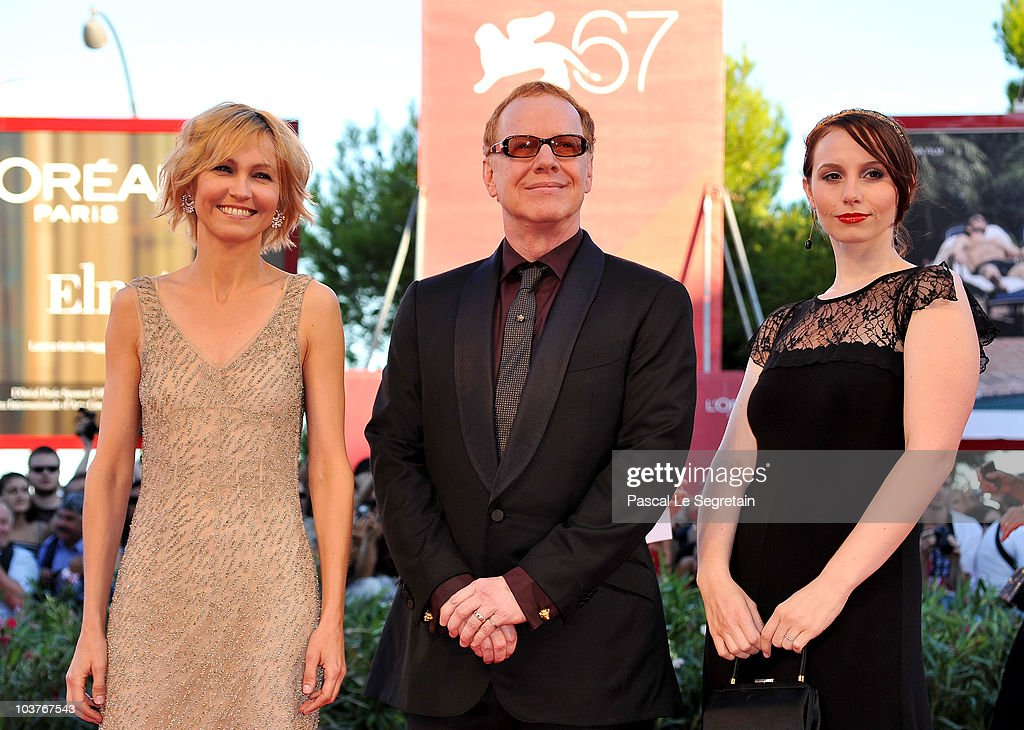 Jury member film composer Danny Elfman (C) and guests attends the Opening Ceremony and 'Black Swan' premiere during the 67th Venice Film Festival at the Sala Grande Palazzo Del Cinema on September 1, 2010 in Venice, Italy.
