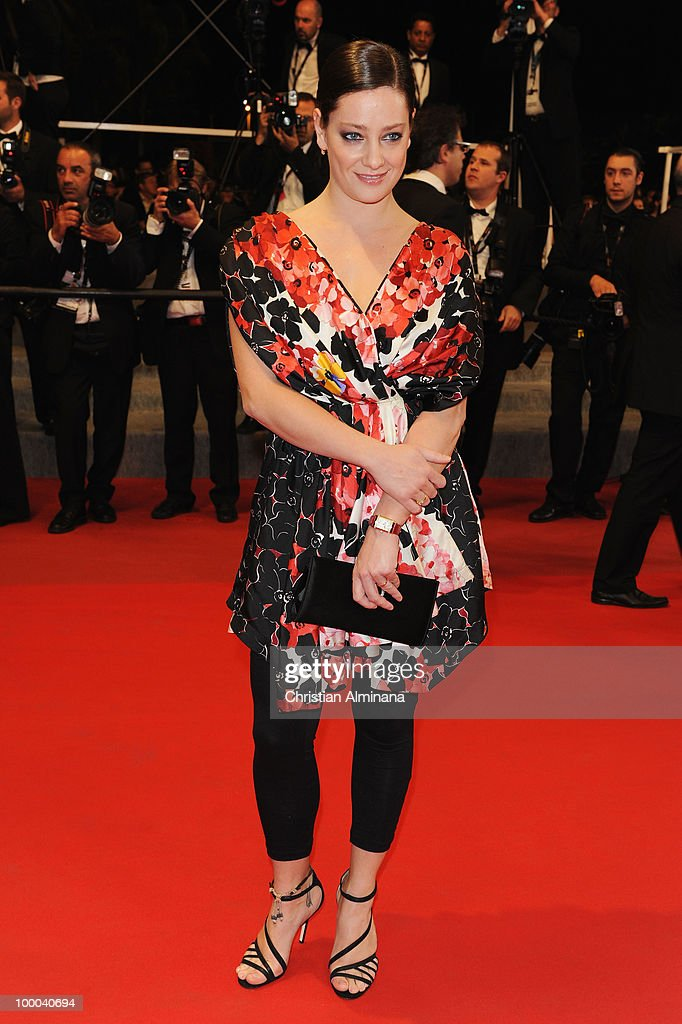 Jury Member Giovanna Mezzogiorno attends the 'Our Life' Premiere held at the Palais des Festivals during the 63rd Annual International Cannes Film Festival on May 20, 2010 in Cannes, France.
