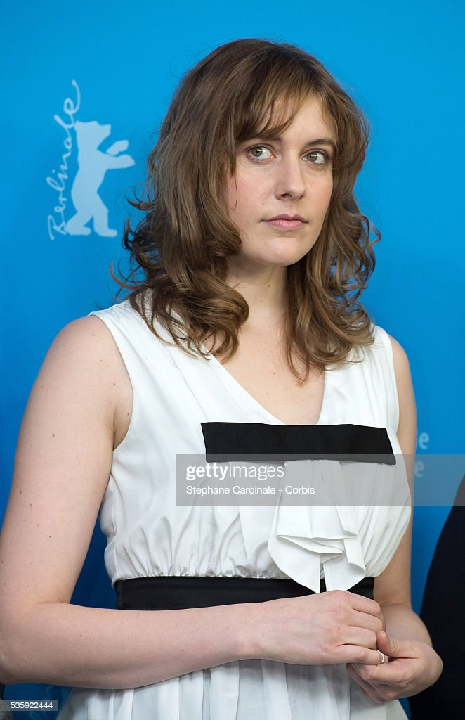 Jury member Greta Gerwig attends the International Jury Photocall during the 64th Berlinale International Film Festival at the Grand Hyatt, in Berlin, Germany.