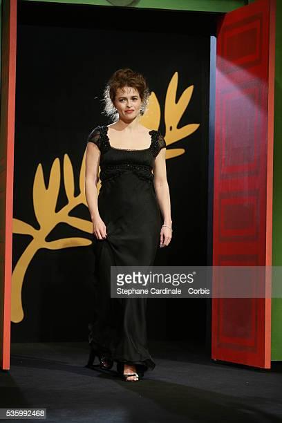 Jury member Helena Bonham Carter at the closing ceremony of the 59th Cannes Film Festival