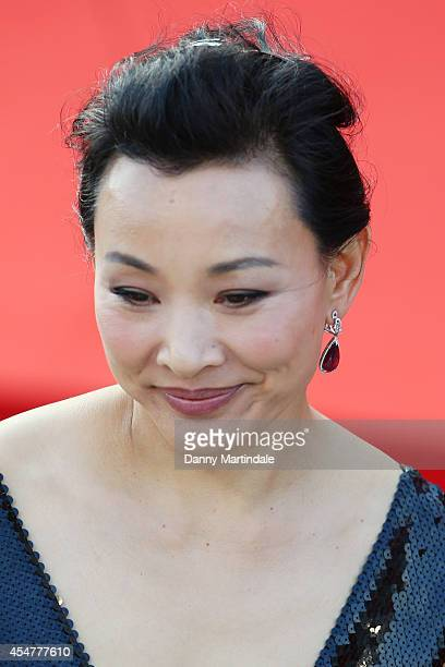 Jury member Joan Chen attends the Closing Ceremony during the 71st Venice Film Festival at Sala Grande on September 6 2014 in Venice Italy