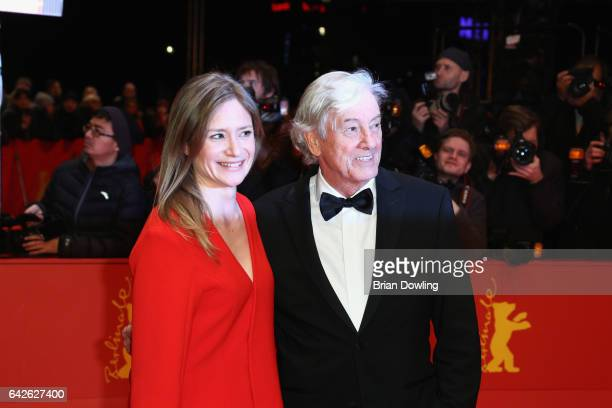 Jury member Julia Jentsch and president of the jury Paul Verhoeven and arrive for the closing ceremony of the 67th Berlinale International Film...