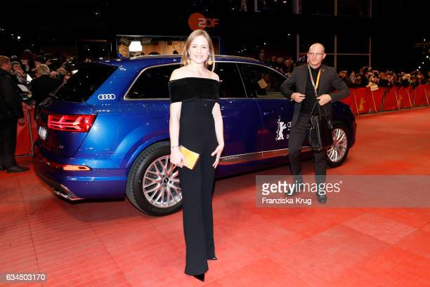 Jury member Julia Jentsch attends the 'Django' premiere during the 67th Berlinale International Film Festival Berlin at Berlinale Palace on February...