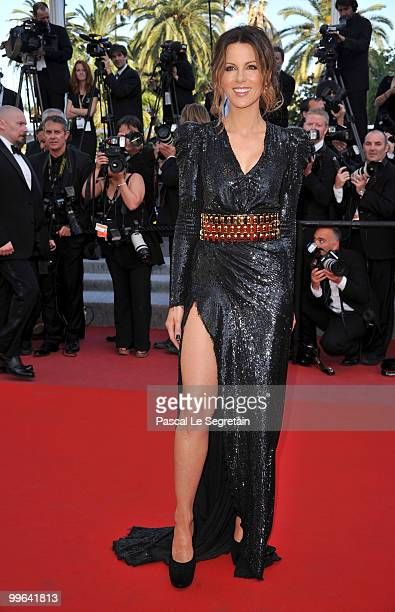 """Jury member Kate Beckinsale attends """"Biutiful"""" Premiere at the Palais des Festivals during the 63rd Annual Cannes Film Festival on May 17, 2010 in..."""