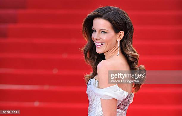 Jury Member Kate Beckinsale attends the 'IL Gattopardo' Premiere at the Palais des Festivals during the 63rd Annual Cannes Film Festival on May 14...