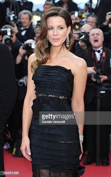Jury member Kate Beckinsale attends the Palme d'Or Closing Ceremony held at the Palais des Festivals during the 63rd Annual International Cannes Film...