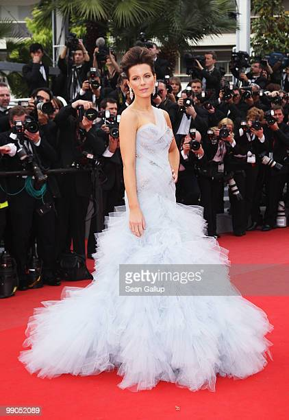Jury member Kate Beckinsale attends the 'Robin Hood' Premiere at the Palais des Festivals during the 63rd Annual Cannes Film Festival on May 12 2010...