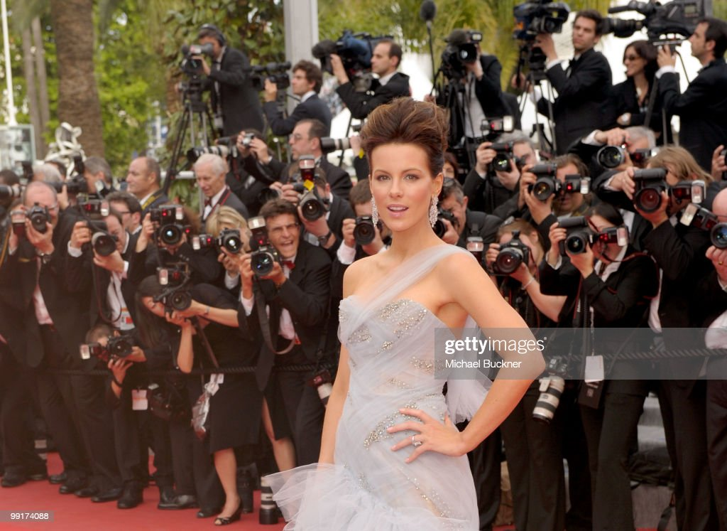 Jury member Kate Beckinsale attends the 'Robin Hood' Premiere at the Palais des Festivals during the 63rd Annual Cannes Film Festival on May 12, 2010 in Cannes, France.
