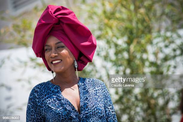Jury member Khadja Nin arrives at the jury photocall during the 71st annual Cannes Film Festival at on May 8 2018 in Cannes France