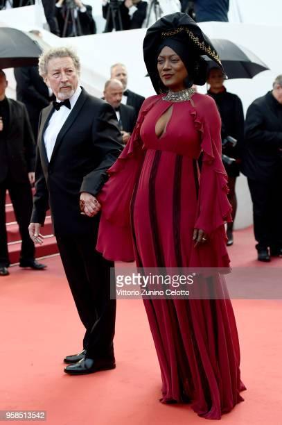 Jury member Khadja Nin attends the screening of Blackkklansman during the 71st annual Cannes Film Festival at Palais des Festivals on May 14 2018 in...