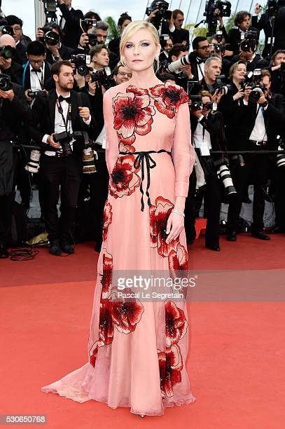 Jury Member Kirsten Dunst attends the Cafe Society premiere and the Opening Night Gala during the 69th annual Cannes Film Festival at the Palais des...