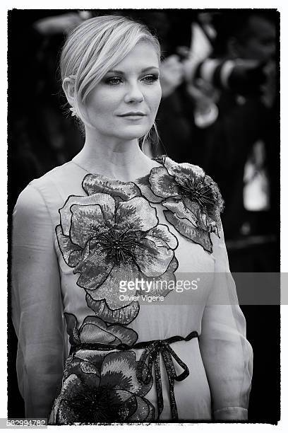 Jury Member Kirsten Dunst attends the 'Cafe Society' premiere during the 69th annual Cannes Film Festival on may 12th 2016 in Cannes