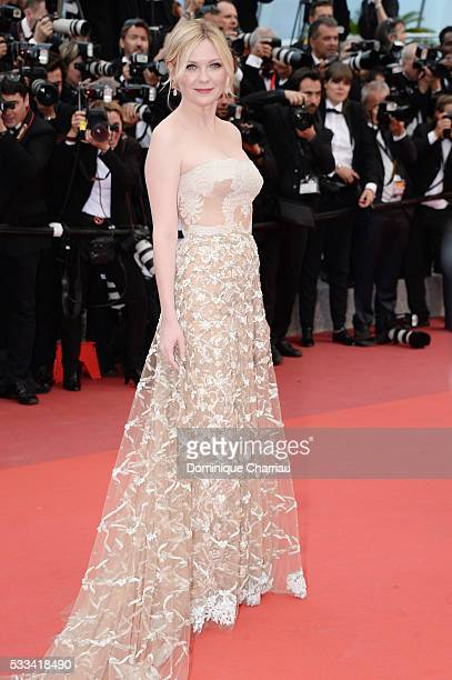 Jury member Kirsten Dunst attends the closing ceremony of the 69th annual Cannes Film Festival at the Palais des Festivals on May 22, 2016 in Cannes,...