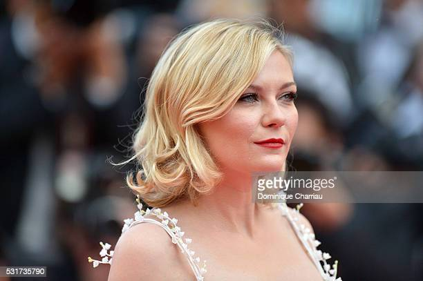 Jury Member Kirsten Dunst attends the Loving premiere during the 69th annual Cannes Film Festival at the Palais des Festivals on May 16 2016 in...